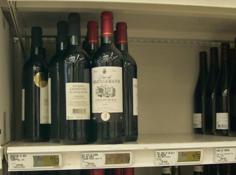 цены на вино во Франции