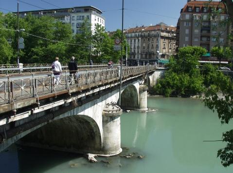 мосты в Женеве