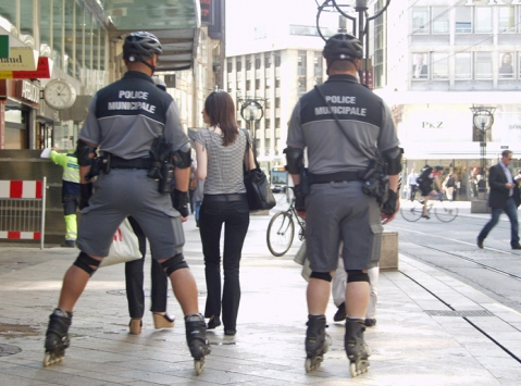 Полиция в Женеве