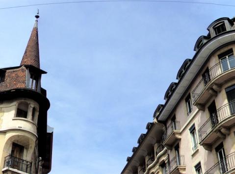архитектура женевы