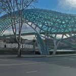 поездка в тбилиси - панорамная фотография