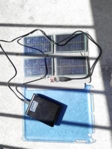 солнечная батареи с powerbank