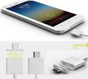 магнитный разъем micro USB
