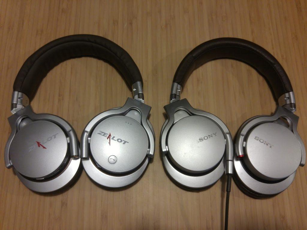 Zealot B3 Sony MDR 1R